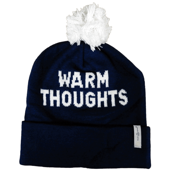 Caribou Coffee Bou Pom Hat - Warm Thoughts
