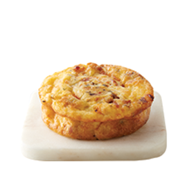 Bacon Gouda Egg Souffle